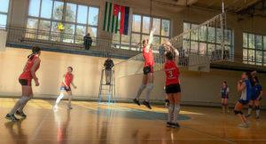 Волейбольные мечты Аланочки