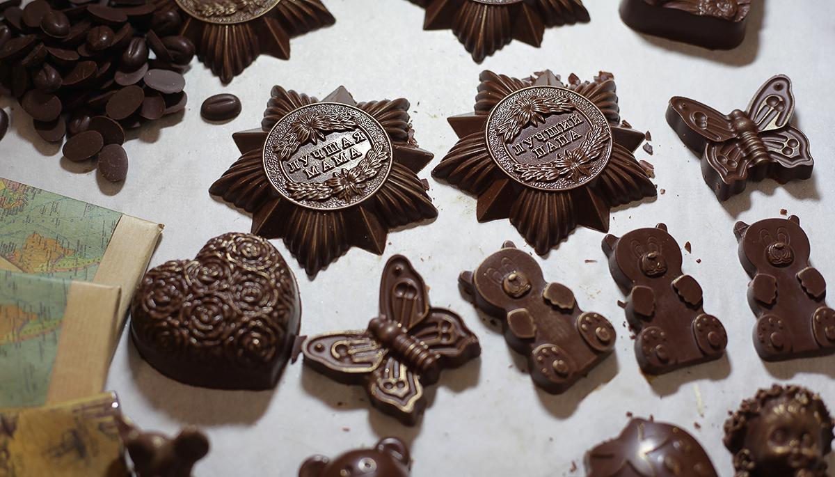 Ольга Шауэрман: Мой шоколад к сладкому не имеет отношения