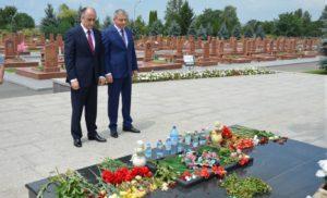 Северную Осетию с дружественным визитом посетил глава Кабардино-Балкарии Юрий Коков