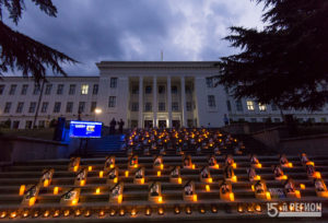 В Южной Осетии прошли памятные мероприятия посвященные 10-летию начала войны 08.08.08.