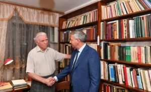 Вячеслав Битаров высоко оценил вклад ученого-археолога Владимира Кузнецова в историческую науку