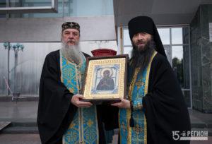 Икона Божией Матери «Умягчение Злых Сердец» (Семистрельная) прибыла в Северную Осетию