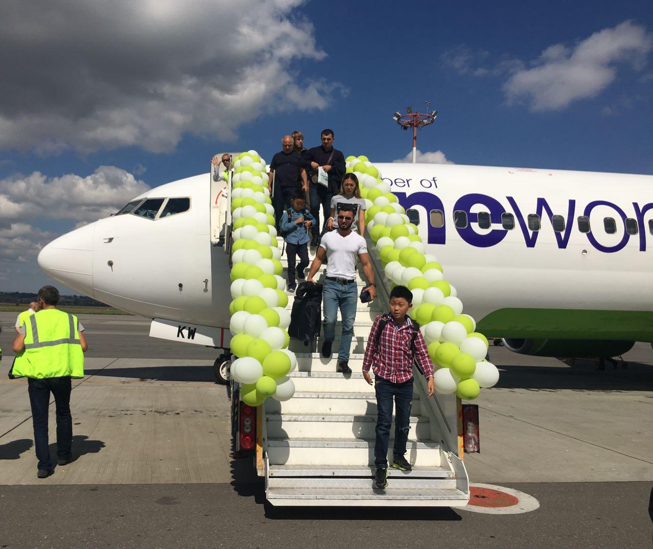 Одна из ведущих авиакомпаний России празднует юбилей полетов во Владикавказ