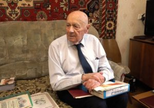 Ветеран «Электроцинка» Николай Нестеренко отмечает 95-летие