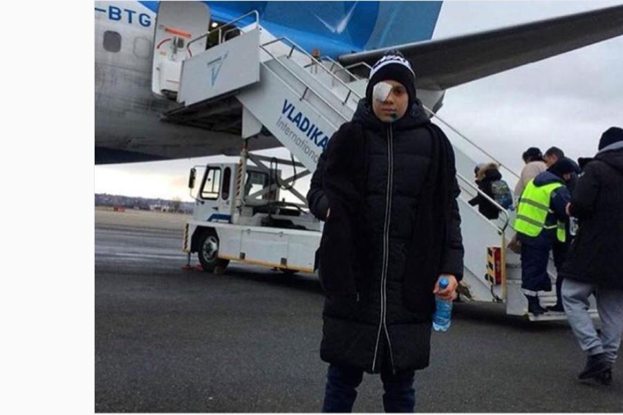 Вячеслав Битаров оказал помощь пострадавшему от петарды мальчику
