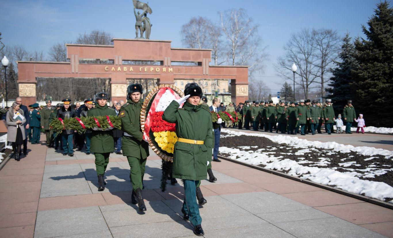 Во Владикавказе отметили День защитника Отечества
