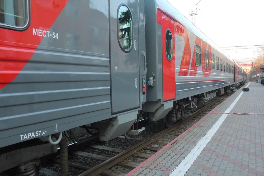 Новые пассажирские вагоны стали курсировать по направлению «Владикавказ-Москва»