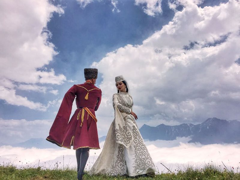 Осетинские танцы