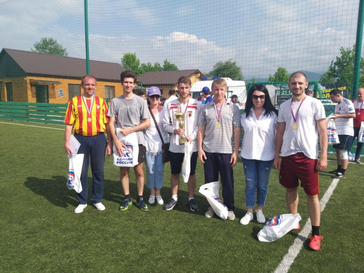 Коллектив республиканской газеты «Северная Осетия» стал победителем турнира по футболу