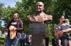 В Донецке открыли памятник «Мамаю»