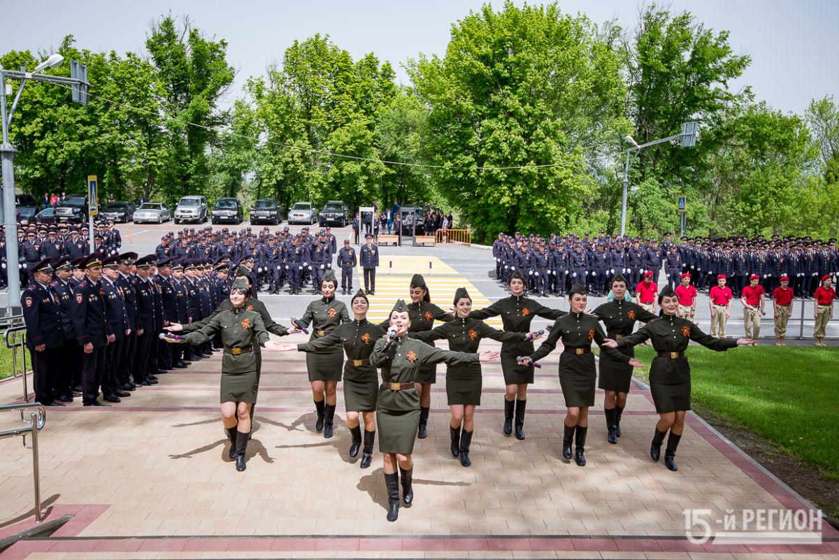Парадные расчеты МВД. Северная Осетия. 2019 год.