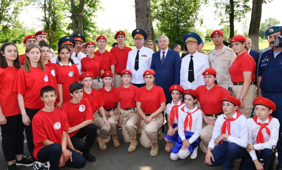 В Северной Осетии прошла Всероссийская акция «Горсть памяти»