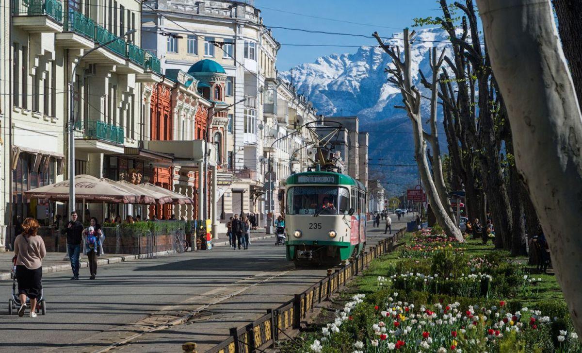 Владикавказ — в первой тридцатке городов России