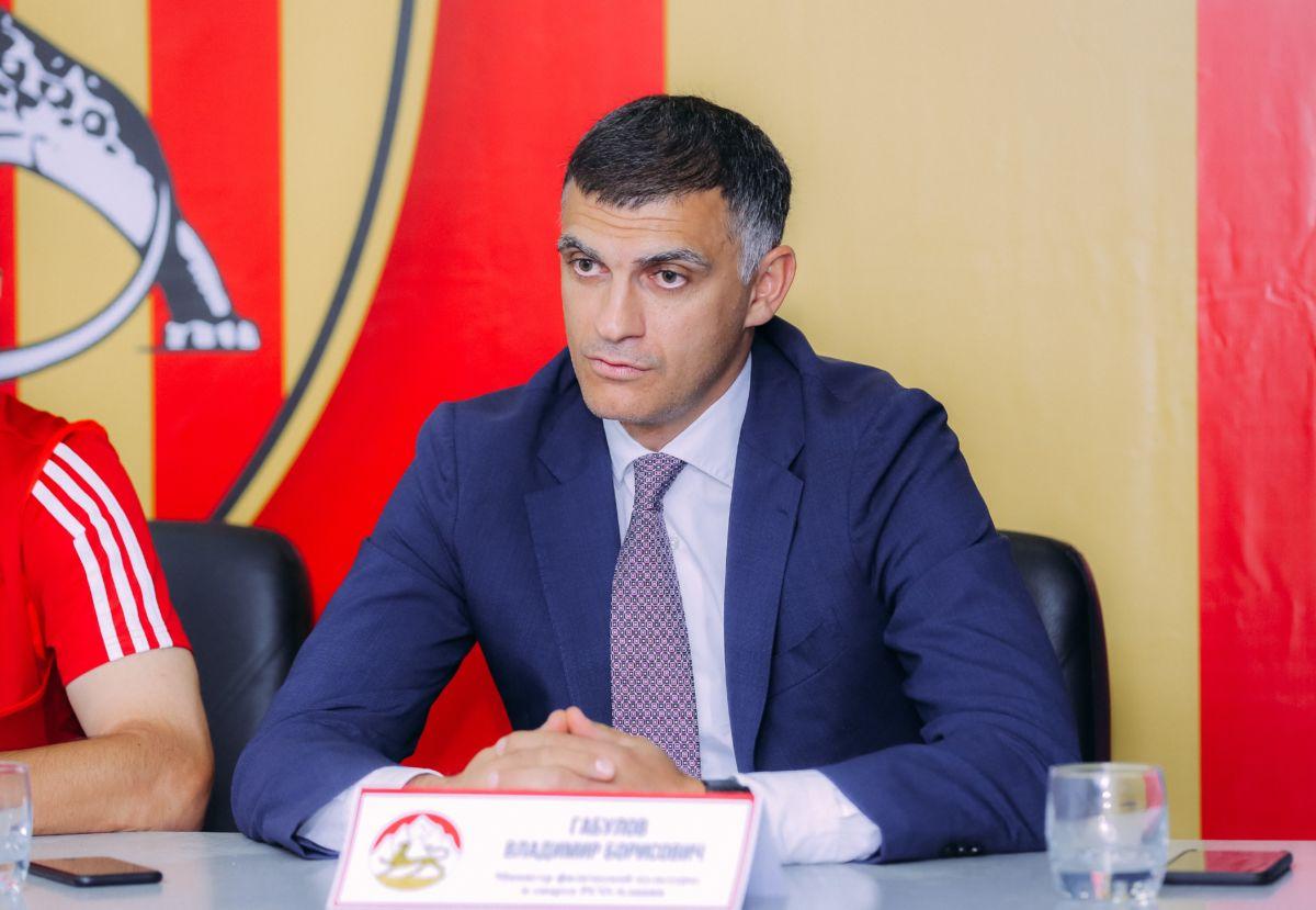 Свой пост покидает министр физической культуры и спорта Северной Осетии