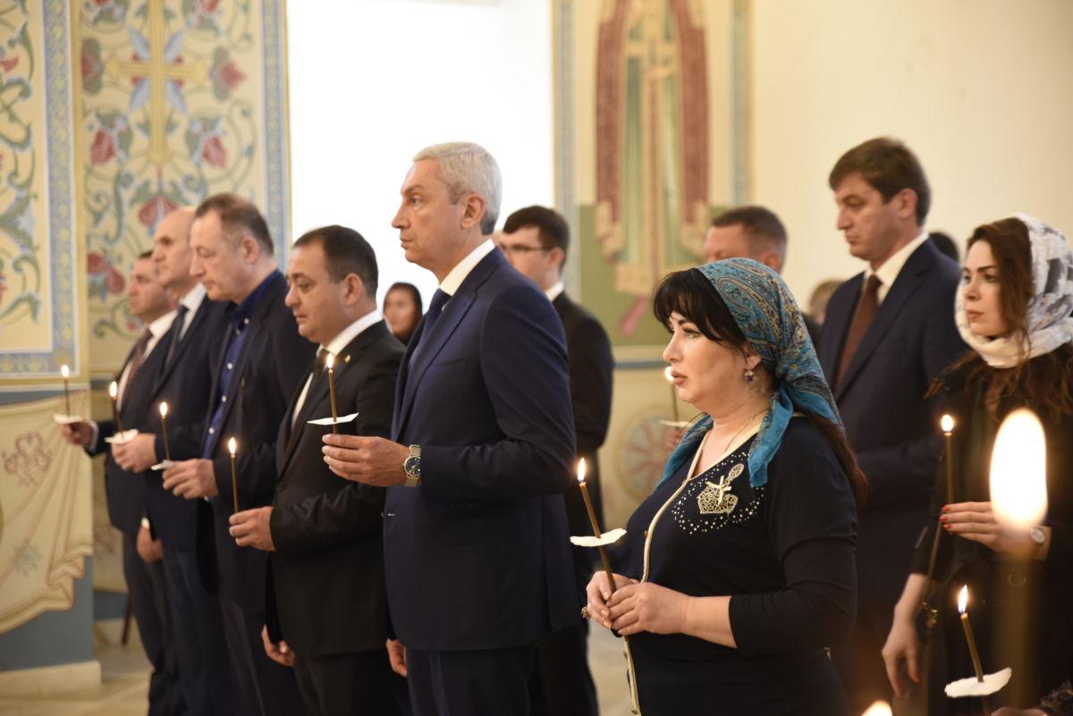 Панихиды в память о жертвах трагических событий в Южной Осетии 2008 года отслужили в Москве
