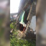 Пенсионерка из селения Фарн проживает в доме из трех стен