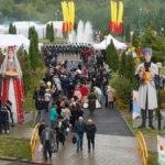 В Северной Осетии завершился первый этап массовых гуляний по случаю Дня республики и Дня города Владикавказа