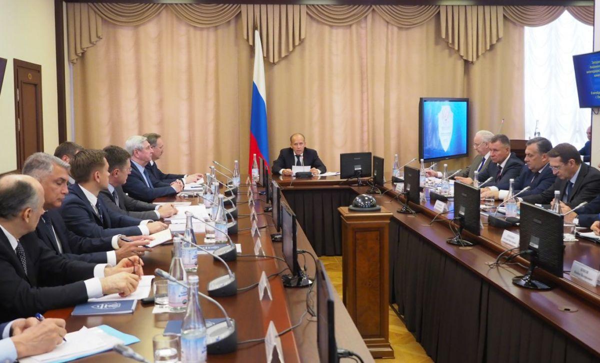 Вячеслав Битаров принял участие в заседании Национального антитеррористического комитета