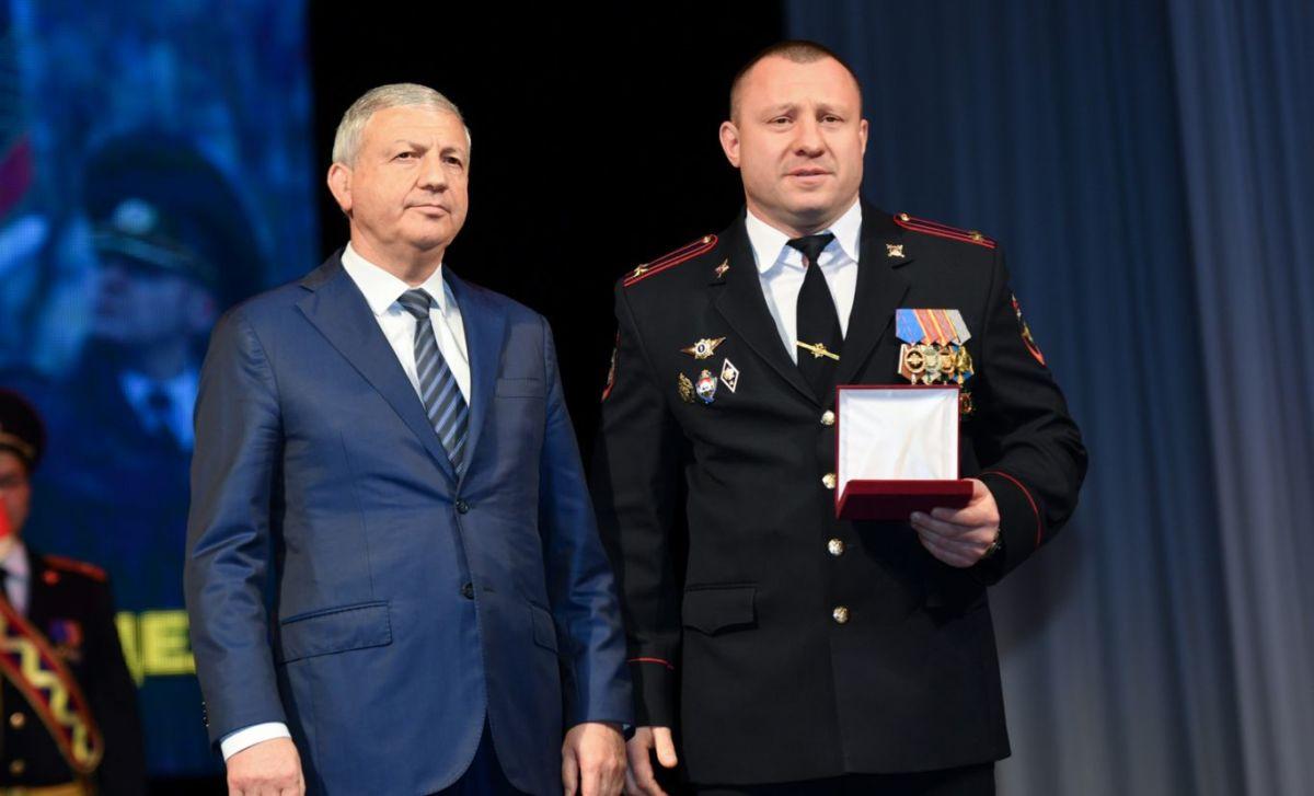 Аслан Гадиев награжден медалью «Во Славу Осетии»