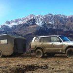 Осетия из окна дома на колесах: республику посетил путешественник Руслан Внедорожный