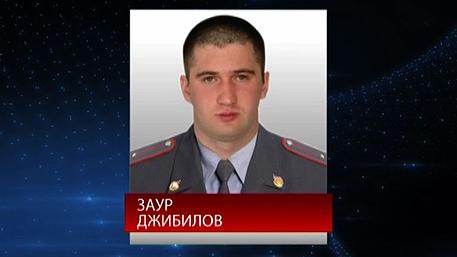 В МВД Северной Осетии сняли видеоролик на улице Заура Джибилова в Беслане