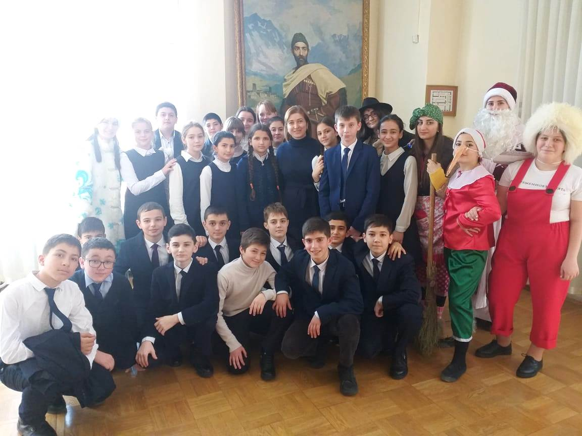 В Мемориальном доме-музее К.Л. Хетагурова состоялось театрализованное представление «Новогодняя сказка в музее»