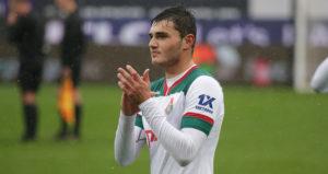 20-летний воспитанник осетинского футбола дебютировал в Лиге чемпионов
