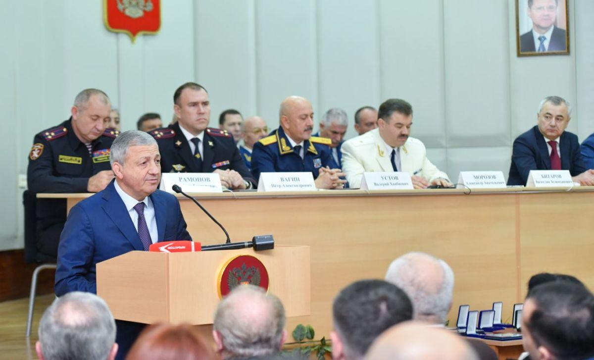 Вячеслав Битаров принял участие в праздновании 298-й годовщины со дня образования Прокуратуры РФ