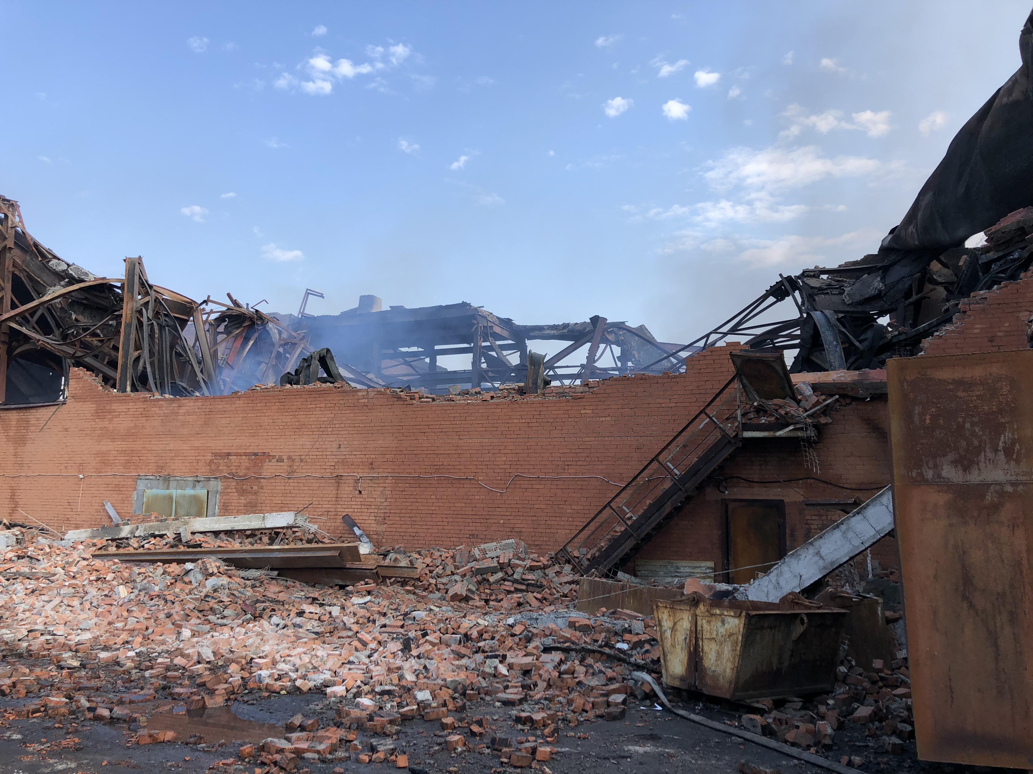 Во Владикавказе сотрудники МЧС потушили пожар