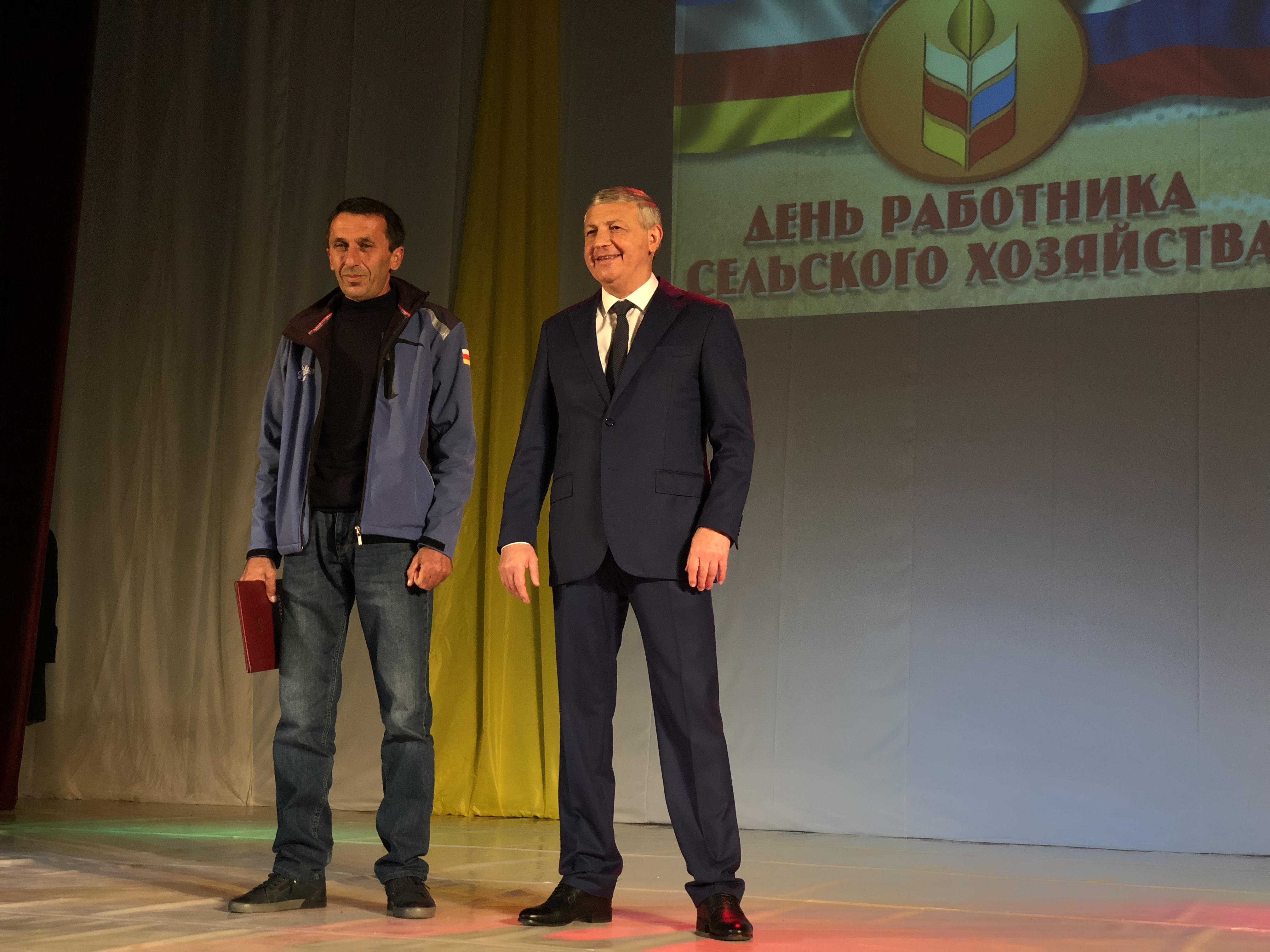 Вячеслав Битаров чествовал работников сельского хозяйства