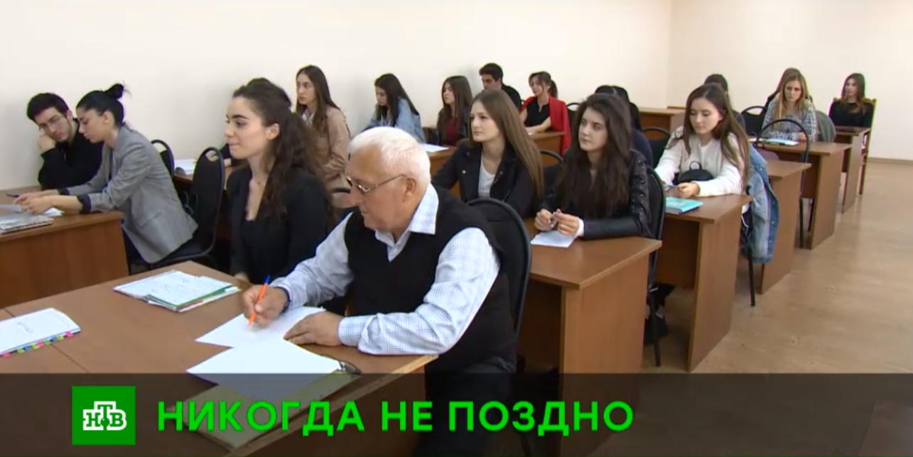 Экс-сотрудник КГБ в 73 года отправился на учебу в университет Северной Осетии