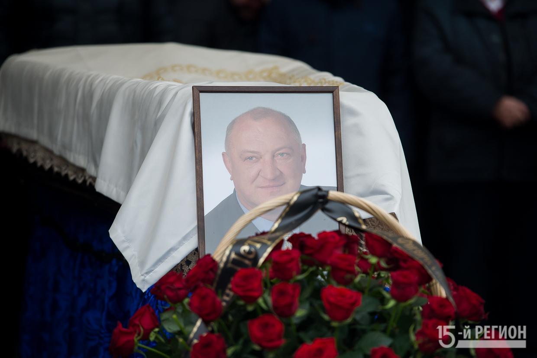 В Осетии простились с Сосланом Андиевым