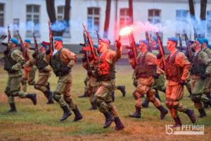 Орджоникидзевское высшее командное училище отметило столетие