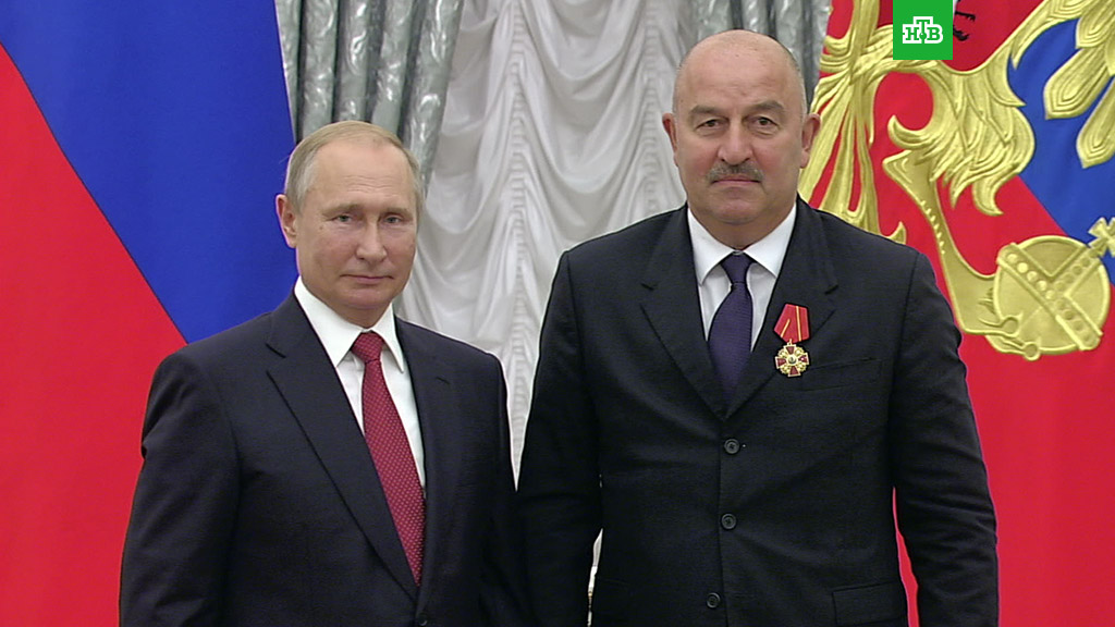 Станислав Черчесов рассказал о своем отношении к Владимиру Путину