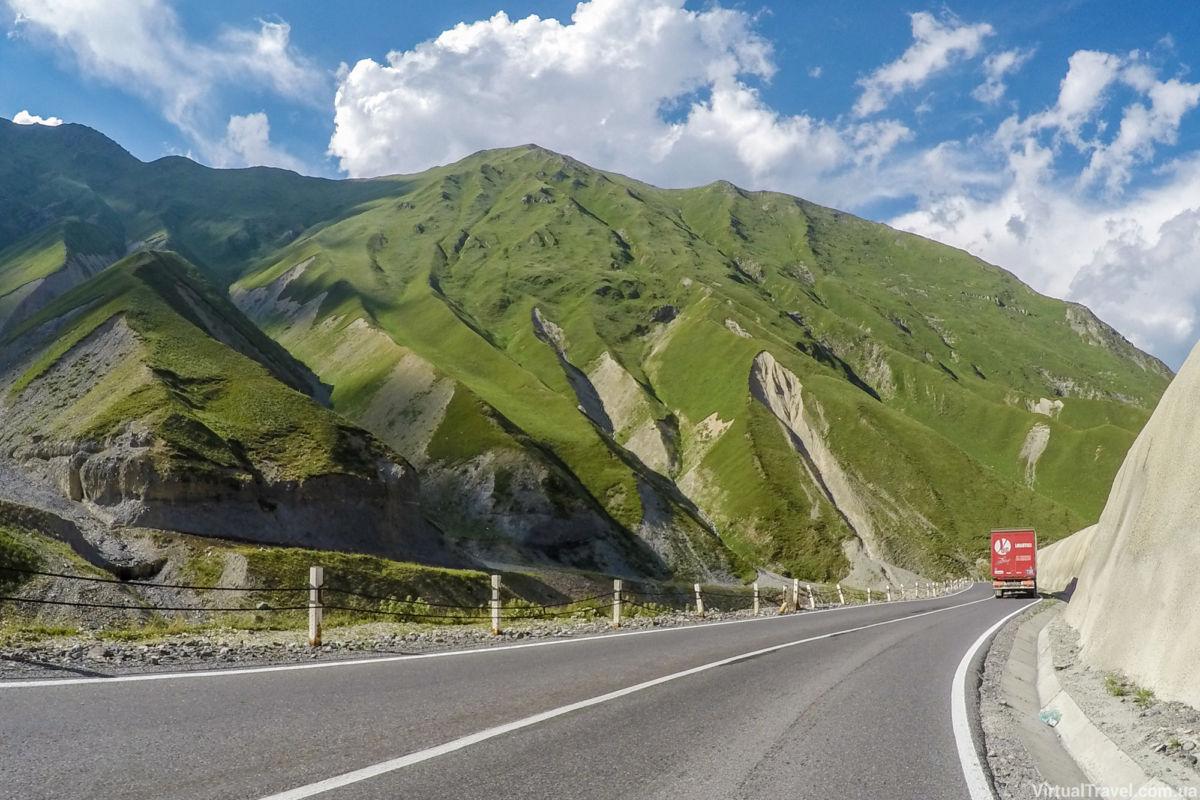 Картинки дорога в грузию