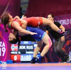 Как это было: Золотая схватка Амины Танделовой на ЕВРО-2019