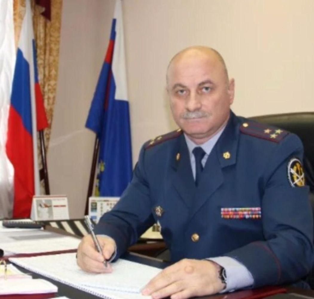 Алану Купееву присвоили звание генерала-майора внутренней службы