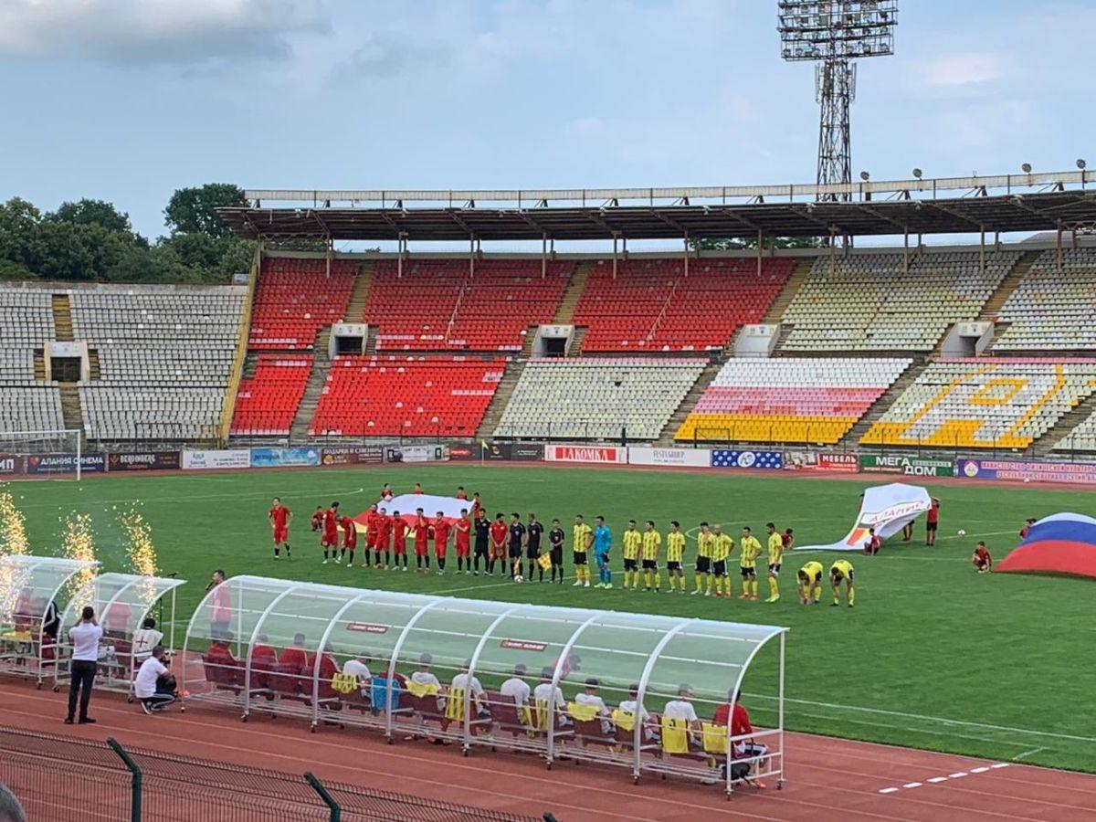 В первой игре сезона «Алания Владикавказ» уступила «Легион Динамо»
