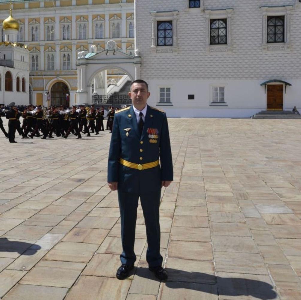 Руслан Кантемиров назначен на должность командира 55-й дивизии ВНГ РФ им. Дзержинского