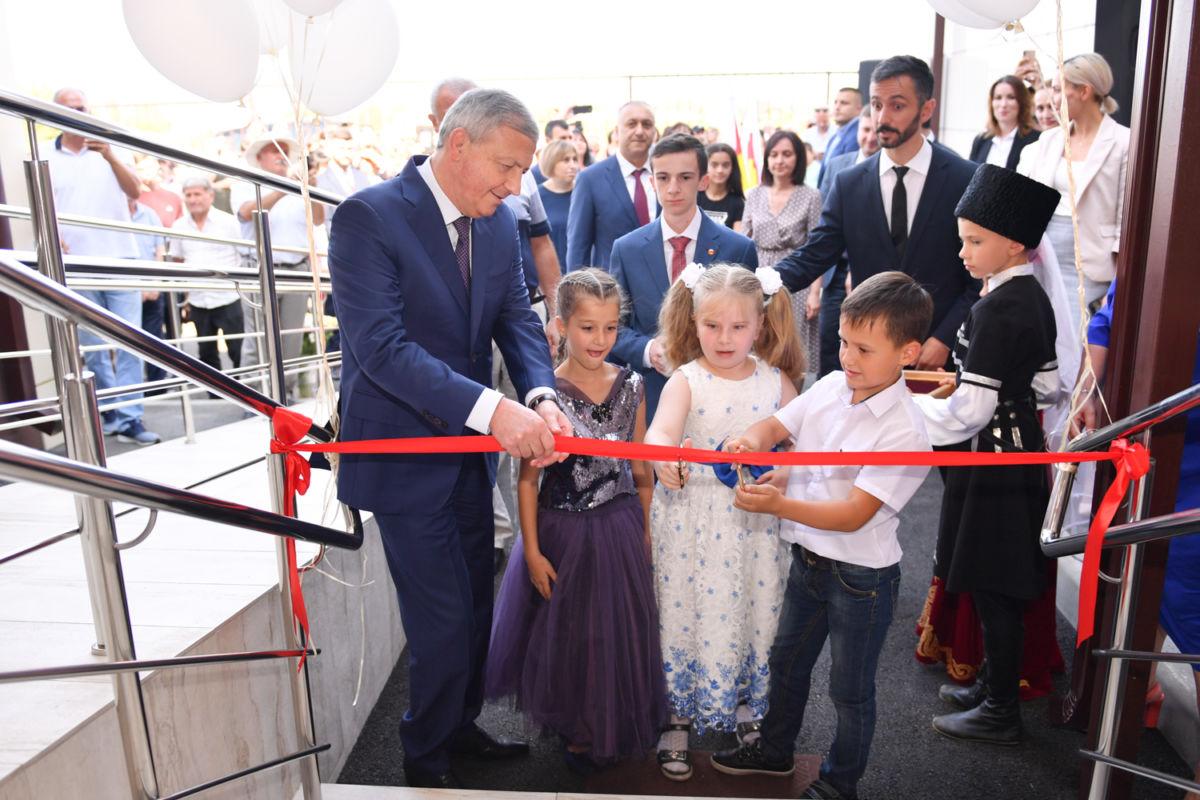 Детский сад на 120 мест открыли в селение Ир