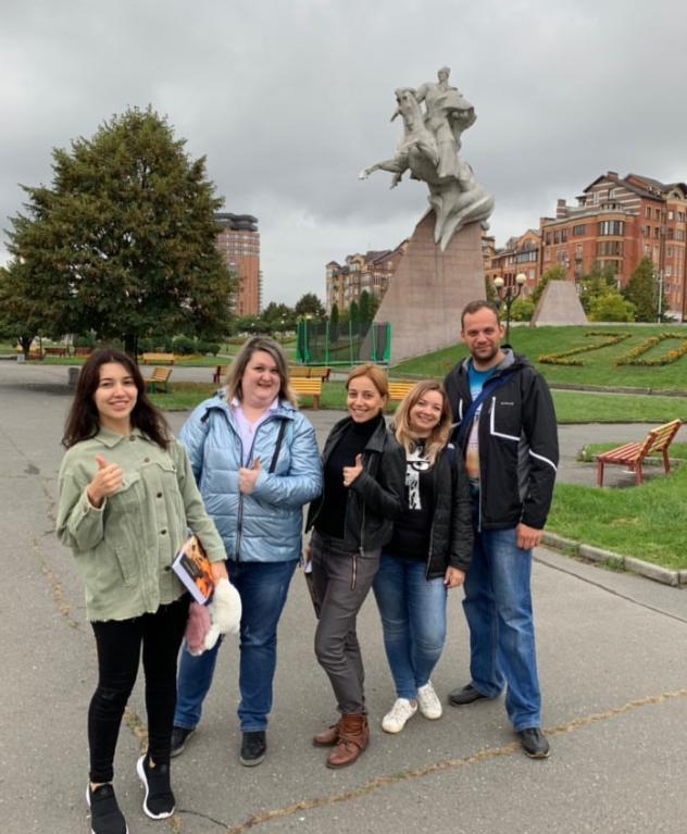 Елена Газаева знакомит жителей крупных российских городов с красотами родной Осетии