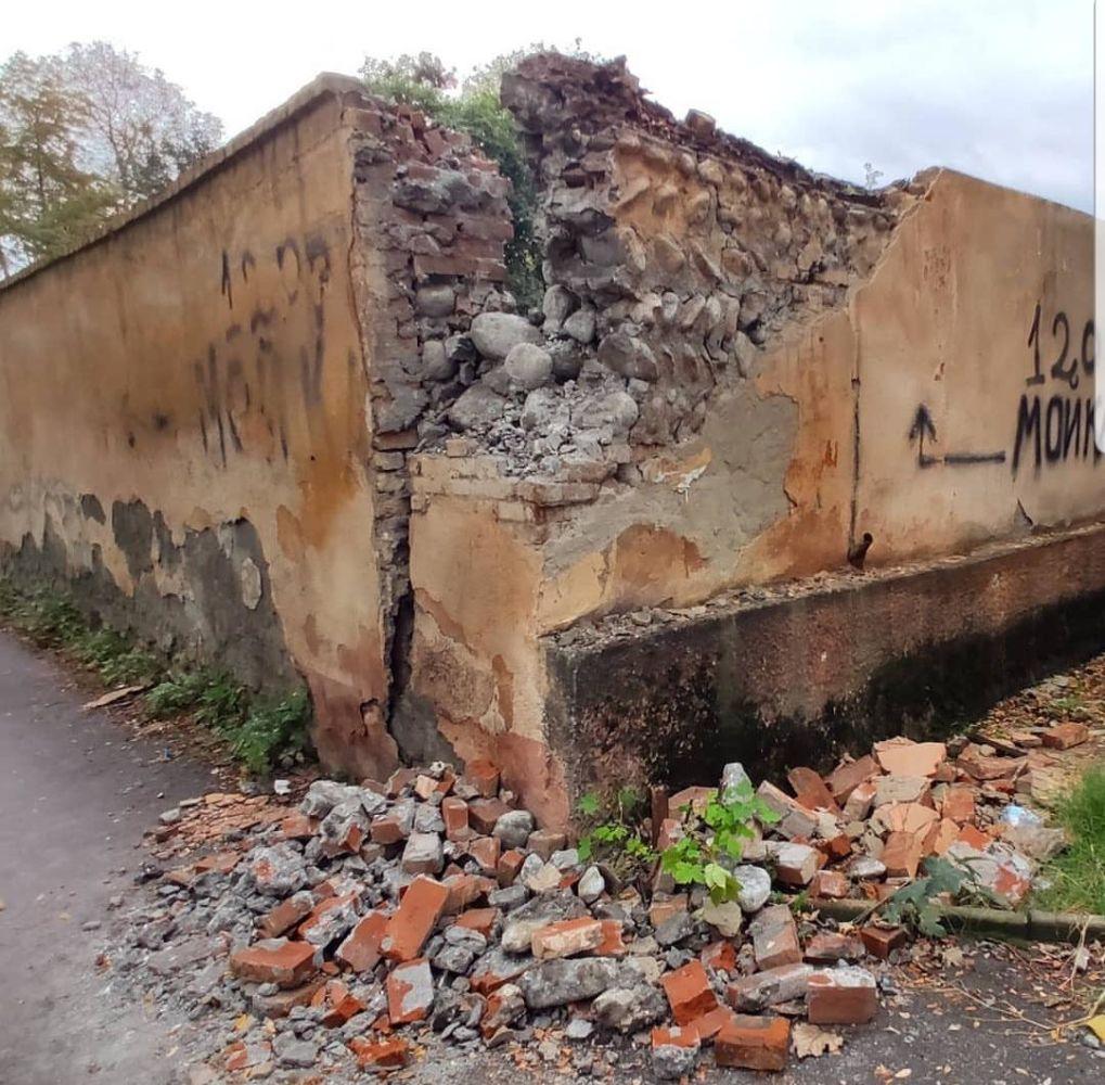 МВД Северной Осетии выясняет обстоятельства разрушения исторического объекта во Владикавказе