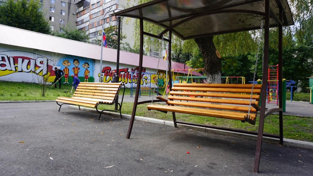 В Северной Осетии благоустроен 61 двор