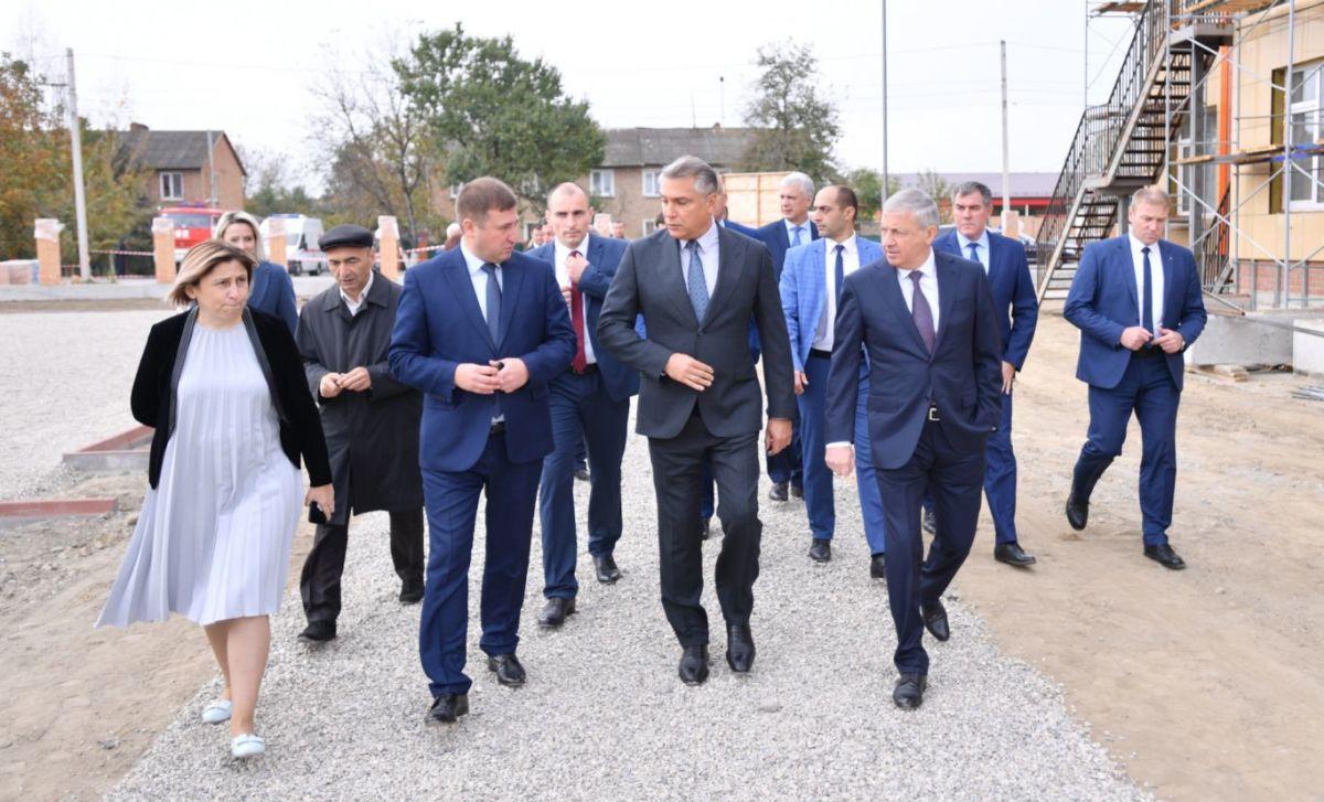 Полпред Президента РФ в СКФО Александр Матовников посетил Моздокский район