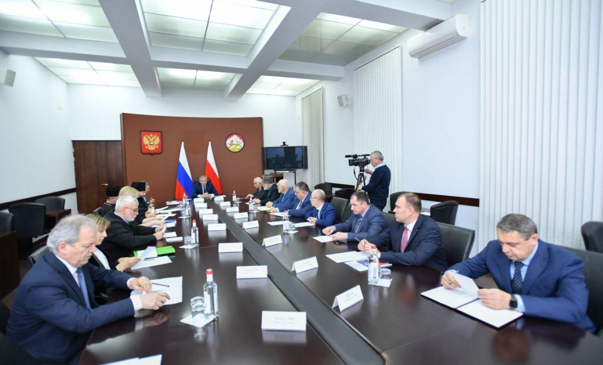 Состоялось первое заседание cовета по взаимодействию с религиозными объединениями при главе Северной Осетии
