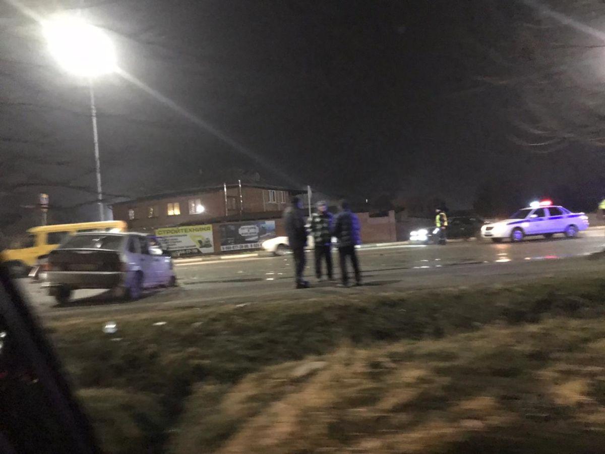 В ДТП на трассе Владикавказ-Алагир пострадали несколько человек