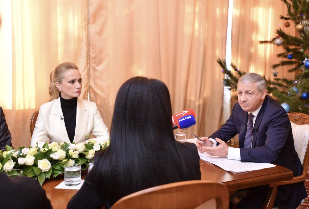 Вячеслав Битаров об итогах минувшего года и ближайших перспективах республики
