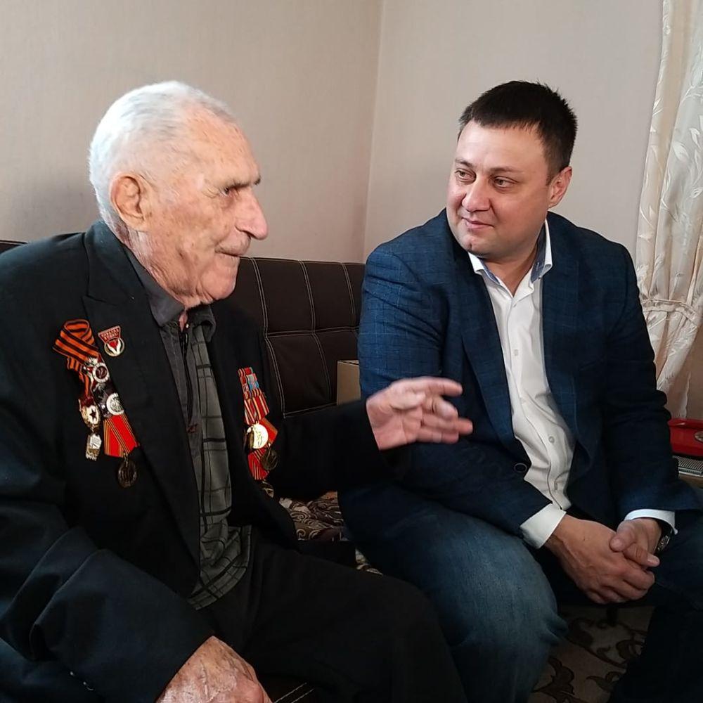 Ветерану Великой Отечественной войны Николаю Попову исполнилось 95 лет