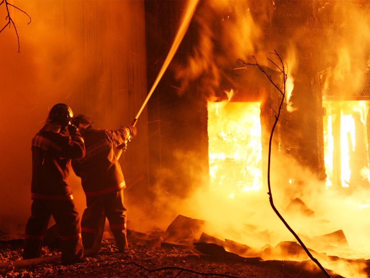 В новогоднюю ночь в Северной Осетии произошло пять пожаров