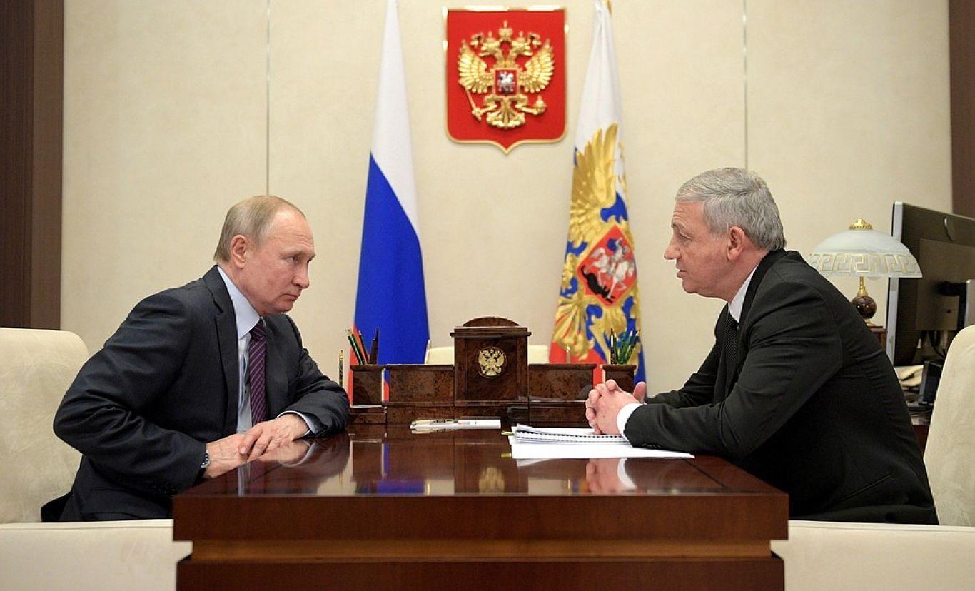 Путин – Битаров: диалог руководителей